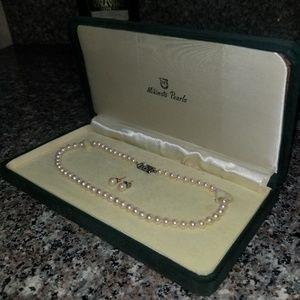 Vintage Mikimoto Pearls